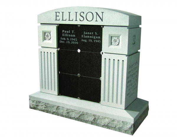 Cremation Memorials Near Westbury NY - Supreme Memorials - 6niches-flutes__1_