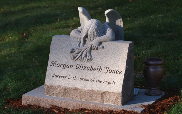 Custom Headstones Near Coram NY - Supreme Memorials - Rock-of-Ages_granite-monuments-1