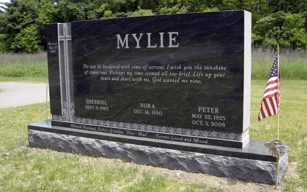 Custom Headstones Near Coram NY - Supreme Memorials - Rock-of-Ages_granite-monuments-2