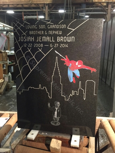 custom_cemetery_monument_spiderman_uniqu