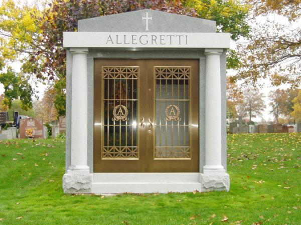 Mausoleums Near Newark NJ - Supreme Memorials - 2_Allegretti