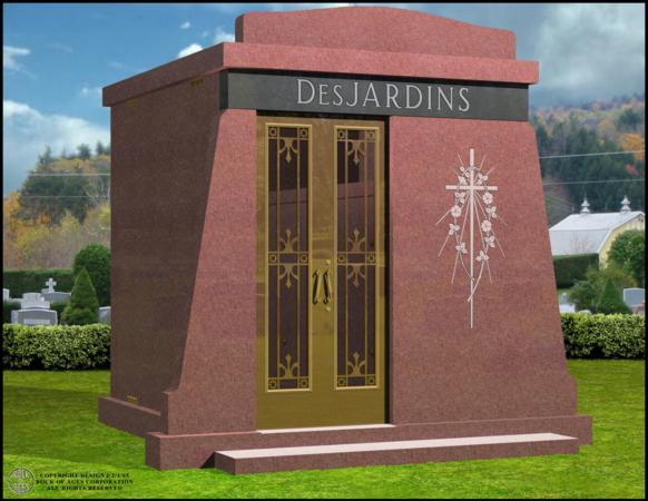 Mausoleums Near Queens NY - Supreme Memorials - DesJardins_1